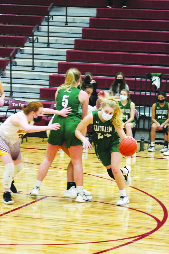 Bill Sullivan is thrilled his Wisconsin Heights girls basketball team is having a season.Now, Sullivan would just like it if his Vanguards starting...