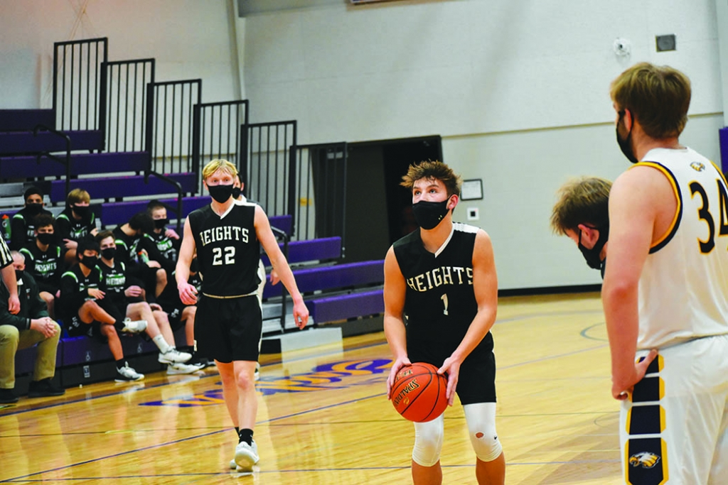 Wisconsin Heights' boys basketball team found out last week what its postseason path will look like.Now, the Vanguards will spend the next...