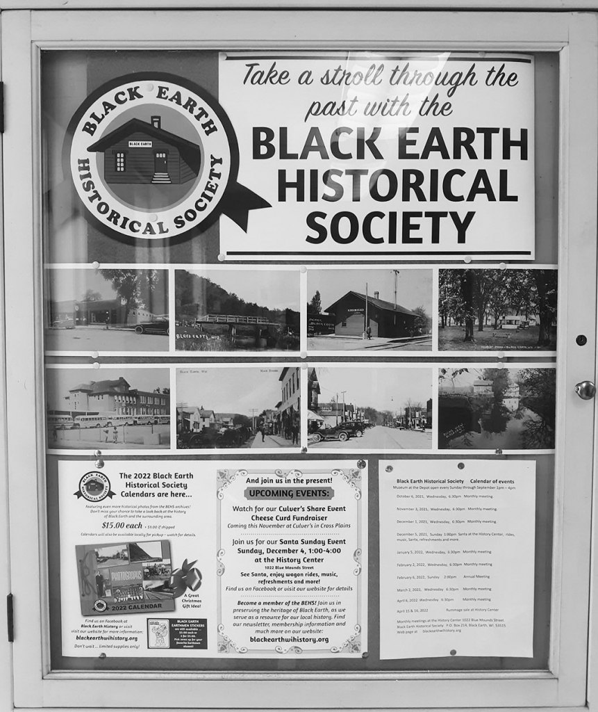 The 2022 calendars for the Black Earth Historical Society's annual fundraiser are now available. Take a look back at the history of Black Earth...