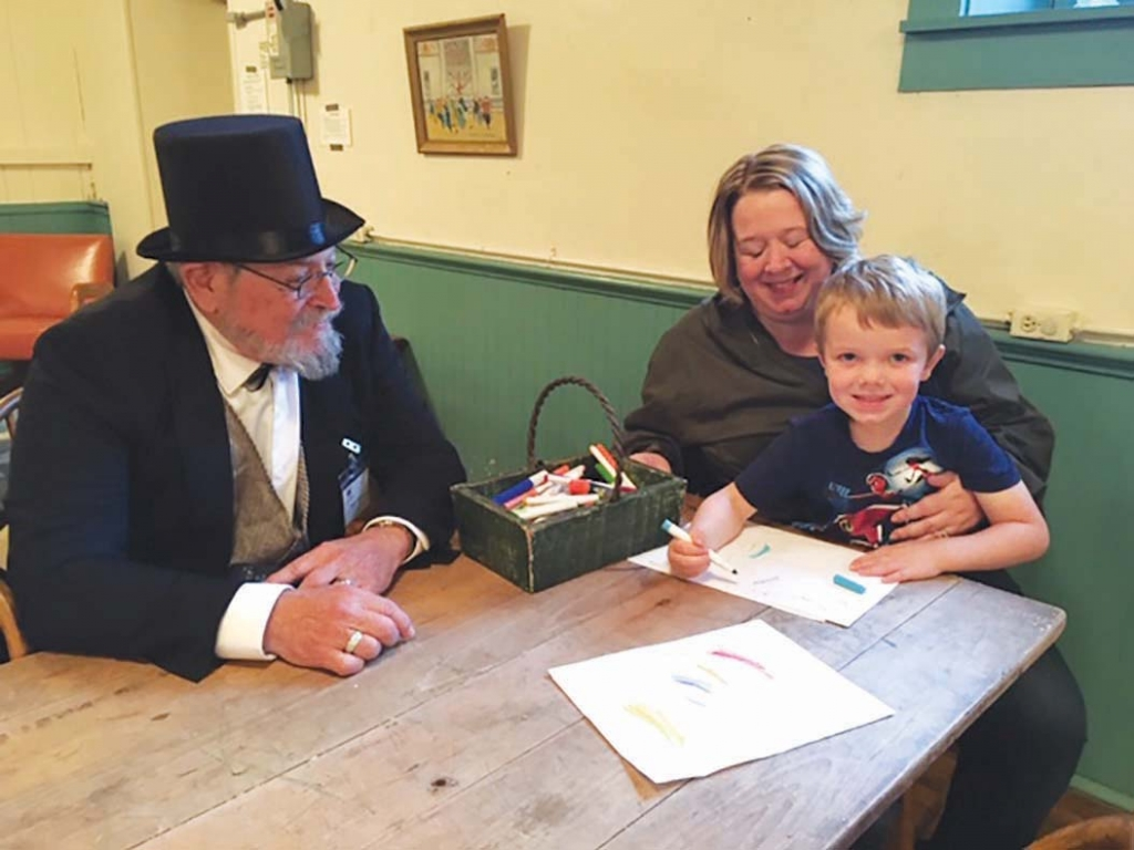 Community Afternoon in the Park took place Oct. 5 at Historic Park Hall. There was an ice cream social, carriage rides stopping at local historic...
