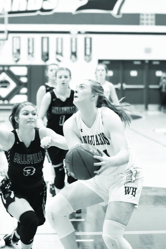 Wisconsin Heights' girls basketball team headed to Marshall Tuesday night.And with a win, the Vanguards could move into a first place tie in...