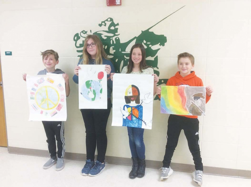 The 2019-20 International Peace Poster contest at Wisconsin Heights Middle School sponsored by the Mazomanie Lions Club has come to a close. This...