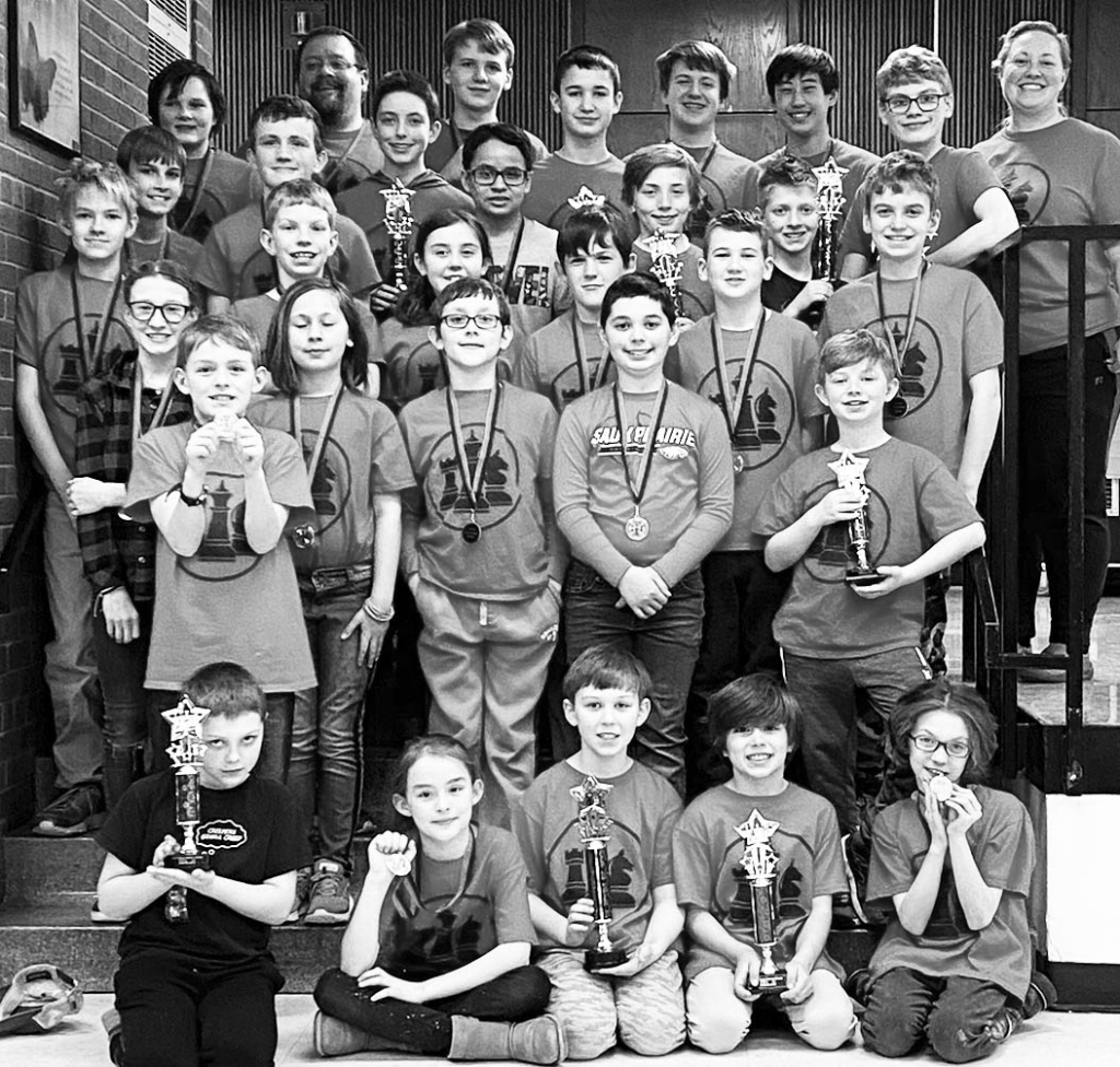 On Saturday, March 7, Sauk Prairie Chess Club hosted a K-12 tournament at the Middle School. Led by coaches Scott Bakken and Jenna McCann, students...