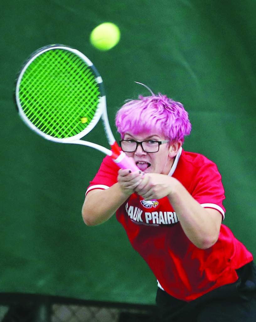 Sauk Prairie tennis standout Quinlyn Mack closed out her career with a trip to the WIAA Division 1 individual state tournament last week.Mack, a...