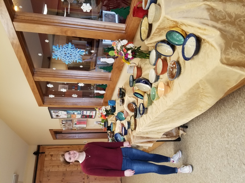 On Sunday, January 26, 2020 The SOUPer Bowl was held at 6:8. Community members purchased one of kind bowls made by the Sauk Prairie Pottery Students...