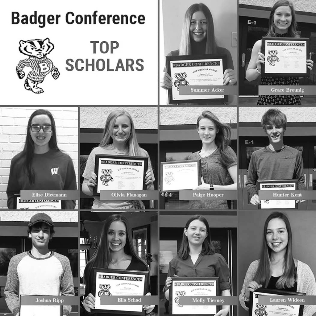 We are proud to announce the Sauk Prairie High School Class of 2020 Badger Conference Top Scholars!After two semesters and eight trimesters,...