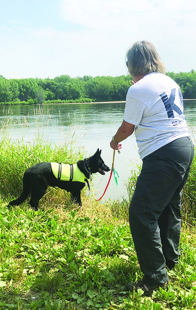 Jackie Johnson-Kruse and her husband Joel Kruse have been searching the Wisconsin River going on four weeks for the body of their son Parker. They...